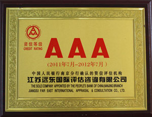Credit rating AAA